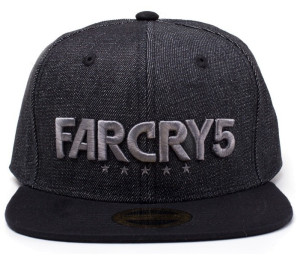 Бейсболка Far Cry 5 - Black Denim Logo