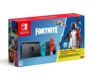 Nintendo Switch Neon Red/Blue + Fortnite